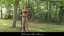 Blonde slave girls punished and fucked get cum poured in mouth Thumbnail