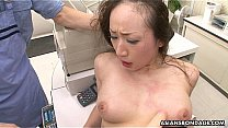 Getting her wet pussy pumped and she gets toy fucked's Thumb