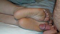 Cumming On Girlfriend's Feet #15 Thumbnail