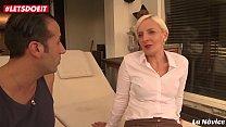 Horny Mature Blondie Fucked Hard at Porn Casting_- LETSDOEIT.COM Thumbnail