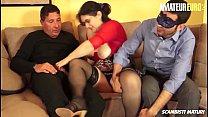 AMATEUR EURO - BBW Adriana Gets Satisfied By Tw...
