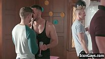 Watch Hot hunks having gay sex during family party preview