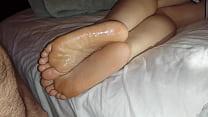 Cumming On Girlfriend's Feet #10 Thumbnail