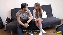 HUNT4K. Cuckold can rent a room for a night tha...