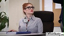 Sex In Office With Big Round Tits Girl (Lennox ...