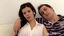 Selling my pregnant girlfriend. Jordi enjoys a future mom Thumbnail
