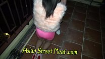 Asian babe needs money and gets fucked in the ass Thumbnail