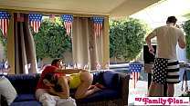 Step Dad & Hot Friend Fuck Teen On Fourth of July! S3:E3 Thumbnail