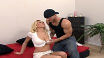 Hot Blonde wants to be a pornstar first goes an...