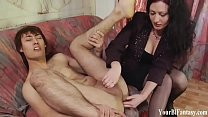 Gay Femdom And Bisexual Threesome Clips