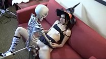 Who is she? Witch fucking skeleton Thumbnail