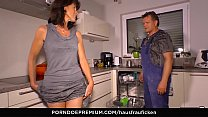Watch HAUSFRAU FICKEN - Raunchy 69 and cum in mouth for mature housewife preview