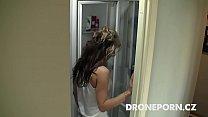 Czech chick Lenka. Spy cam in shower