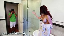 BANGBROS - Bathtub Threesome With Karlee Grey and Stepmom Monique Alexander's Thumb