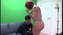 Big bottomed girl falls for a porn performer sh...
