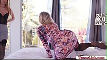 Ashley Fires and Daisy Stone satisfy each other...