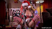 Sarah Jessie Christmas Masturbation Thumbnail
