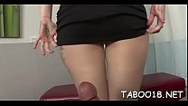 Sultry legal age teenager knows how to please cock