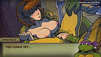 Watch TMNT cartoon porn. April gets some cum in her pussy l Hottest highlights l The Mating Season l Part #2 preview
