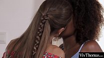 Instant attraction a ebony lesbian pick's up a ...