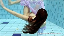 Watch Swimming nude_in pool preview