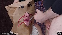 b. me and gag me: roughly facefucked and made t...