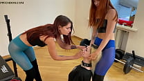 Lezdom BDSM With Two Sexy Mistresses in Colored...