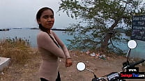 Thai teen GF taken to a remote island to suck o...