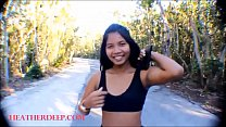 Watch HD thai teen flasting tits in the public preview