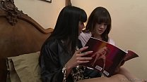 Watch Hot milf licking her_friend's daughter's pussy - Mercedes Carrera, Alison Rey preview