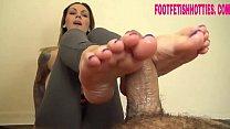 Brunete feet cumshot - foot fetish hotties com's Thumb