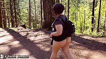 Watch Big Butt Latina takes a Hike in the WOODS and gets a STICKY FACIAL! preview