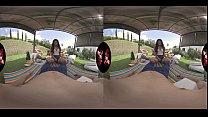 Latin Teen Outdoor Fun in 5K VR