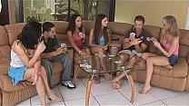 A group of amateurs playing strip poker & fucking Thumbnail