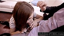 Nubiles-Porn Daughter Caught By Step-Dad Promises To Be Good Girl Thumbnail