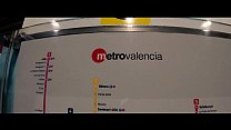 TRAVEL SHOW - Russian Girl Sasha Bi in Valencia...