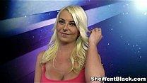 Blonde Babe Kali Kavalli gets Interracial Sex Thumbnail