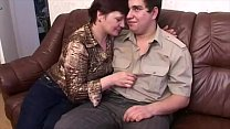 Watch Pervert Mother Having Sex With Chubby Son preview