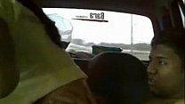 Desi babi with husband in car صورة