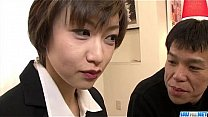 Watch Office threesome along Akina Hara preview