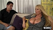 BangMyStepMom - Karen Fisher - Voluptuous MILF Has Sex With Step-son  NEW (WANKZ  Feb 11, 2015) NEW's Thumb