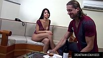 Beautiful Tgirl Is Fucked Deep in Her Ass