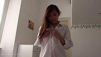 Amazing cute fun asian 18yo teen sex at home Thumbnail