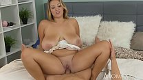 Plump Milf Gets Cum_All Over_Her Huge Natural Tits Thumbnail