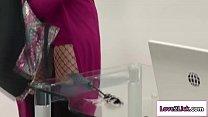 Syren De Mer loves licking Mindi Minks wet pussy in the office's Thumb