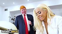 BANGBROS - Luna Star Gets ANAL In The Oval Office While The President Watches's Thumb