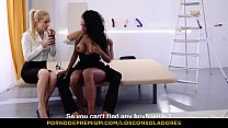 black babe fayevalentine with magic smile n sexy glasses 18flirtcom Xxx video - Los consoladores - hot foursome features portuguese ebony babe consoled with pussy lick and drill Thumbnail