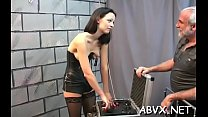 Sexy bizarre bondage home porn Thumbnail