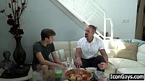 Watch Twink visiting favourite teacher for gay sex - old and young preview