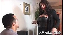 Voluptuous chick gets fucked so well